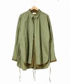 TOIRONIER(トワロニエ)の古着「layered shirts/レイヤードシャツ」