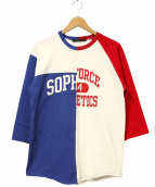 SOPH.(ソフ)の古着「ドッキングラグランTシャツ」|ホワイト