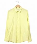 Maison Martin Margiela(メゾンマルタンマルジェラ)の古着「カラープレーンシャツ」 イエロー