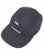 Supreme(シュプリーム)の古着「Reflective Tab Pocket Camp Cap」|ネイビー