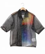 PORTVEL(ポートヴェル)の古着「オーガンジーオープンカラーシャツ」