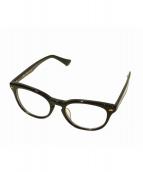 PHIGVEL(フィグベル)の古着「伊達眼鏡」 ブラック