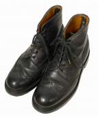SCOTCH GRAIN(スコッチグレイン)の古着「ウィングチップブーツ」 ブラック