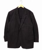 YS for men(ワイズフォーメン)の古着「オーバーサイズ1Bジャケット」 ブラック