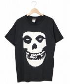 MISFITS(ミスフィッツ)の古着「バンドTシャツ」|ブラック