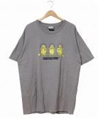 SST(エスエスティー)の古着「90'sレーベルTEE」 グレー