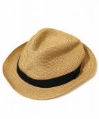 mature ha(マチュアーハ)の古着「BOXED HAT/ペーパーハット」|ブラウン