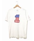 CALIFORNIA CHOPPERS(カリフォルニアチョッパーズ)の古着「[古着]90'sプリントTシャツ」|ホワイト