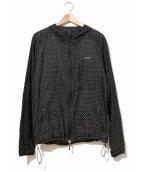 GOOD ENOUGH(グッドイナフ)の古着「ドットジャケット」|ブラック