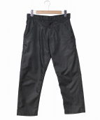 BLACK COMME des GARCONS(ブラックコムデギャルソン)の古着「ベーシックパンツ」|ブラック