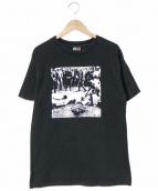 バンドTシャツ(バンドTシャツ)の古着「[古着]INFEST バンドTシャツ」|ブラック