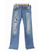 DIESEL(ディーゼル)の古着「デニムパンツ」|インディゴ