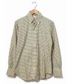 Black Fleece(ブラックフリース)の古着「チェックシャツ」|イエロー