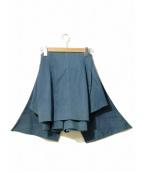 AHCAHCUM.muchacha(アチャチュム ムチャチャ)の古着「デザインスカート」|インディゴ