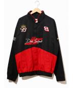 WINNERS CIRCLE(ウィナーズ・サークル)の古着「レーシングジャケット」|ブラック×レッド