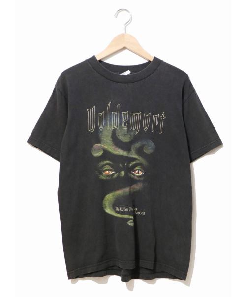 HARRY POTTER(ハリーポッター)HARRY POTTER (ハリーポッター) [古着]00's映画Tシャツ ブラック サイズ:M USA製・00年・ボルデモート・ハリーポッターの古着・服飾アイテム