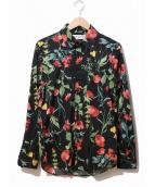 RUDE GALLERY(ルードギャラリ)の古着「FLOWER SHIRT/フラワーシャツ」|ブラック