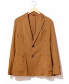 BARENA(バレナ)の古着「2Bジャケット」|ブラウン