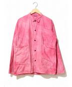 TENDER.Co.(テンダーコー)の古着「染めカバーオール」|ピンク