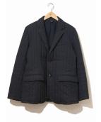 ts(s)(ティーエスエス)の古着「中綿テーラードジャケット」|ネイビー