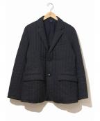 ts(s)(ティーエスエス)の古着「中綿テーラードジャケット」 ネイビー