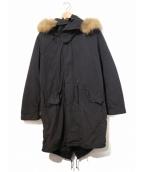 ALPHA(アルファ)の古着「別注M-65モッズコート」|ブラック