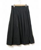 GRANDMA MAMA DAUGHTER()の古着「ロングプリーツスカート」|ネイビー