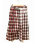 VINTAGE(ヴィンテージ/ビンテージ)の古着「[古着]レトロスカート」|レッド