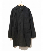 Engineered Garments()の古着「Robe in Black Patchwork Flanne」|ブラック