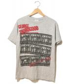 バンドTシャツ(バンドTシャツ)の古着「[古着]80's GEORGE THOROGOOD」|グレー