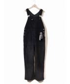 LEVI'S(リーバイス)の古着「BEAMS別注オーバーオール」 ブラック