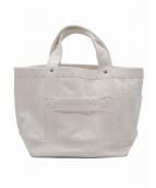 YAECA(ヤエカ)の古着「キャンバスツールバッグ」|ホワイト