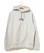 Supreme(シュプリーム)の古着「Glitter Arc Hooded Sweatshirt」|グレー