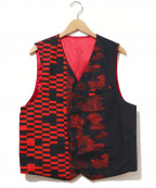Engineered Garments(エンジニアドガーメンツ)の古着「Reversible Vest」|レッド×ブラック