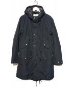AIGLE(エーグル)の古着「フィッシュテイルコート」 ブラック