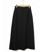 tricot COMME des GARCONS(トリコ コムデギャルソン)の古着「ウールマキシスカート」 ブラック