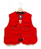 Columbia(コロンビア)の古着「SalmonTrout Butte Vest」|レッド