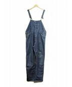 LEVIS VINTAGE CLOTHING(リーバイスヴィンテージクロージング)の古着「復刻デニムオーバーオール」|インディゴ
