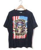 バンドTシャツ(バンドTシャツ)の古着「[古着]90's GUNS N ROSES バンドTシャツ」|ブラック