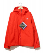 THE NORTH FACE(ザノースフェイス)の古着「GTX INSULATION HOODIE」|レッド