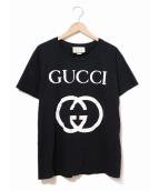 GUCCI(グッチ)の古着「インターロッキングG Tシャツ」|ブラック