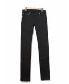 Dior Homme(ディオール オム)の古着「ストレッチスキニーパンツ」|ブラック
