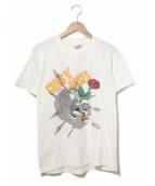 GUNS N ROSES(ガンズアンドローゼズ)の古着「80'sバンドTシャツ」|ホワイト