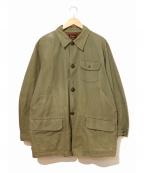 Sears(シアーズ)の古着「[古着]ハンティングジャケット」|オリーブ
