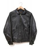 NEIGHBORHOOD(ネイバーフッド)の古着「レザージャケット」|ブラック