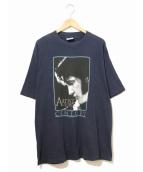 バンドTシャツ(バンドTシャツ)の古着「[古着]ELVIS PRESLEY バンドTシャツ」|ネイビー