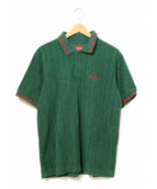 Supreme(シュプリーム)の古着「able Knit Terry Polo」|グリーン