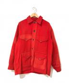 FILSON(フィルソン)の古着「[古着]ヴィンテージマッキーノクルーザージャケット」|レッド