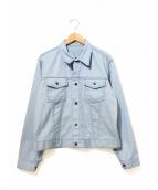VINTAGE(ヴィンテージ/ビンテージ)の古着「[古着]トラッカージャケット」|ブルー
