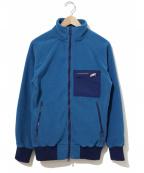 Battenwear(バテンウェア)の古着「フリースジャケット」 ブルー